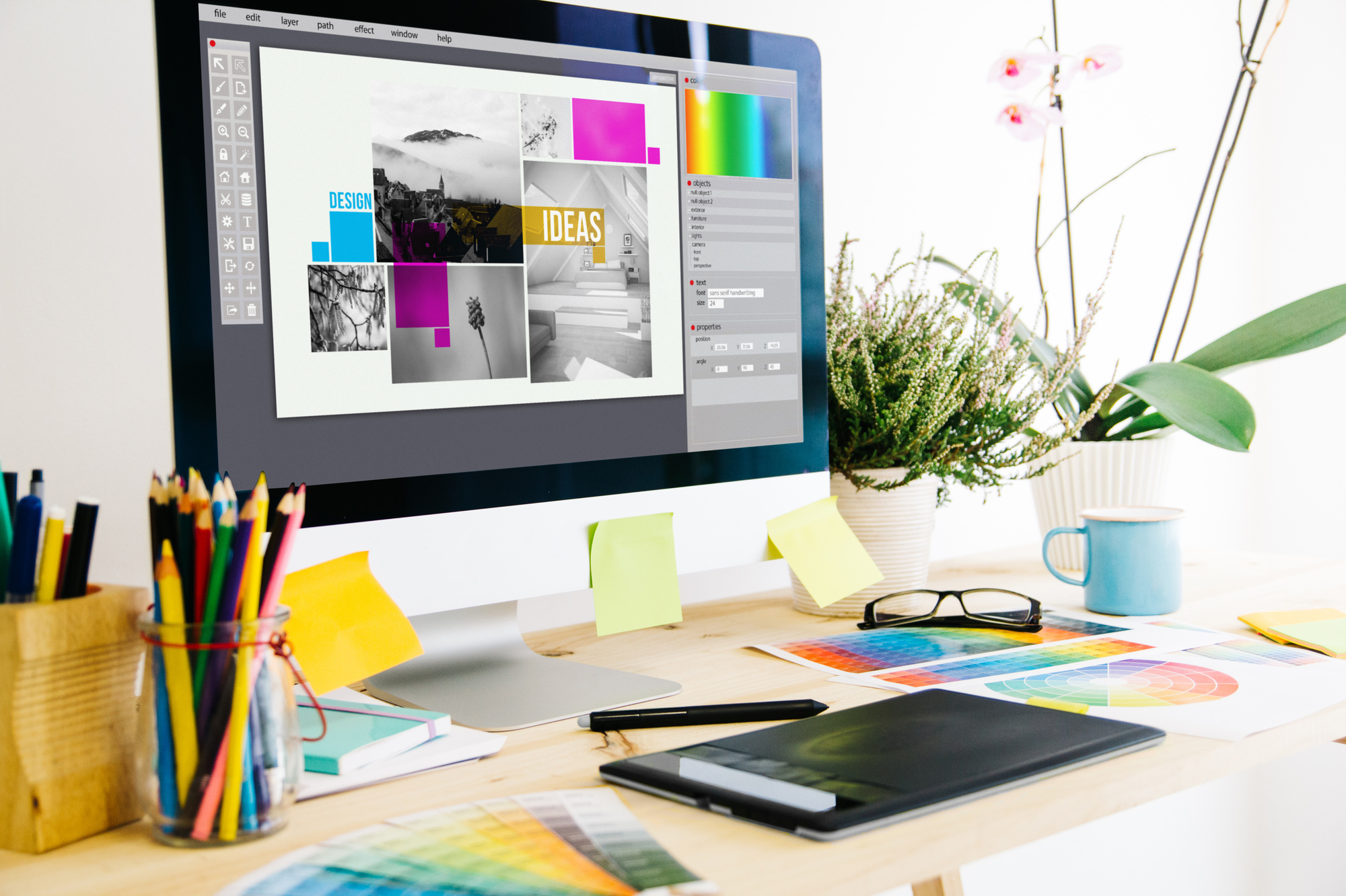 7 Tips for Combining Graphic Design Trends With Expert Photography